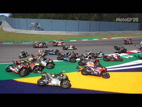 MotoGP 20 Big Crashes #3