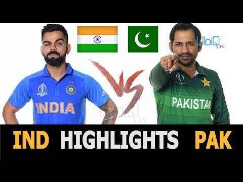 """Cricket World Cup 2019 Full Highlights """"India vs Pakistan"""" Full Match Highlights Today"""