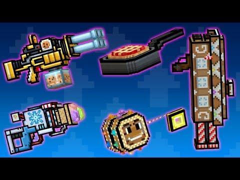 Edible Weapons - Pixel Gun 3D