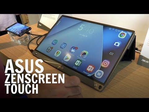 ASUS ZenScreen Touch, un monitor esterno non solo per smartphone