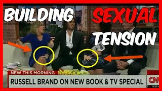 How to Flirt & Build Sexual Tension Like Russell Brand | Alpha Male Breakdown ✔