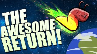 The Visitor Returns Gameplay - All Endings! - SPACE WORM IS BACK!