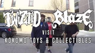 Exclusive: Twiztid + Blaze Visit Kokomo Toys