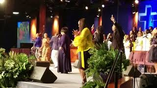 Old School Praise Service 4/29/18 - City of Refuge Los Angeles, CA