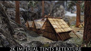 Skyrim SE Mods: 2K Imperial Tents Retexture