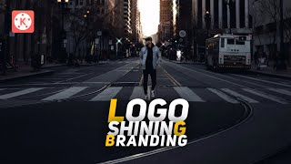 Shining Logo Branding With Kinemaster ! 👌🔥