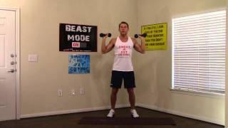 10 Min Shoulder Workout - HASfit Best Shoulder Exercises - Shoulder Work Out - Deltoid Exercise by HASfit