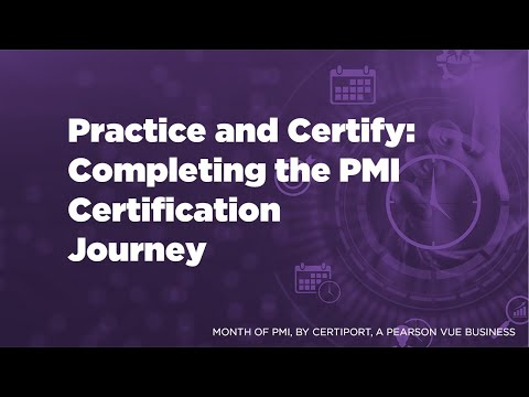 Month of PMI: Practice and Certify, Completing the PMI Certification ...