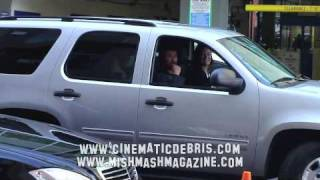 NOAH WYLE Spotted in Van at Comic-Con