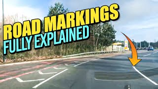 Road Markings Explained - Driving Lesson on Road Markings!