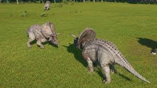 Torosaurus VS Torosaurus - Jurassic World Evolution