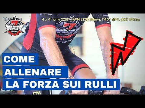 Allenamento sui rulli ciclismo : la forza resistente