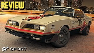 GT SPORT - Pontiac Firebird Trans Am REVIEW