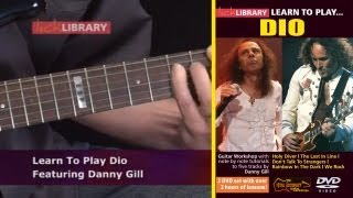 Learn To Play Dio - Guitar Lessons With Danny Gill Licklibrary
