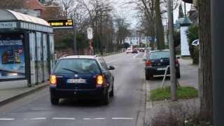 preview picture of video 'Zivil PKW mit Sondersignal + NEF DRK Karlsruhe zu Einsatz Person im Gleisbett + Bilder'