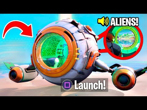 new spaceship event in fortnite season 3