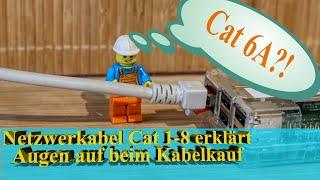 Lan Kabel Kategorien - Was ist ein Cat 7 Kabel? - Netzwerkkabelkunde für Freude an der IT