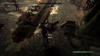 Skyrim: Turning the Dawnguard into Vampires