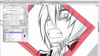 How to Draw Manga with Sen and Kai - Manga Studio Part 2