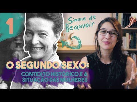 SIMONE DE BEAUVOIR E O CONTEXTO HISTÓRICO DE ?O SEGUNDO SEXO? | Filosofia | Thaís Lima #04
