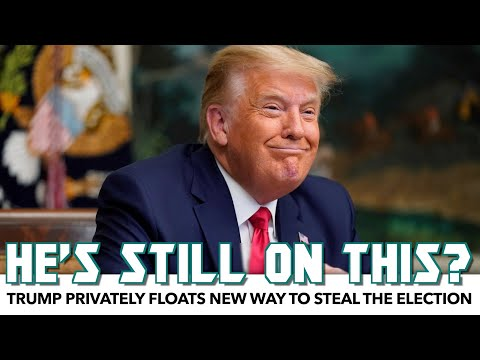 Trump Privately Floats New Way To Steal The Election