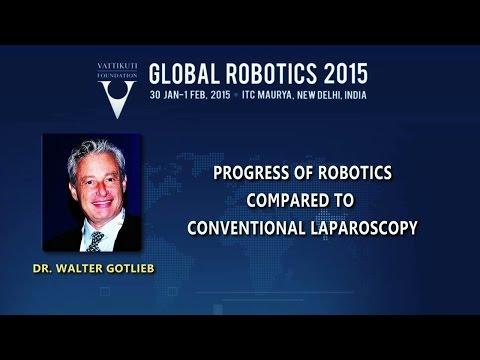 Progress of Robotics Compared to Conventional Laparoscopy