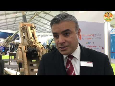 BAE Systems Displays 52 Calibre 155mm Ultra Light Howitzer at DEFEXPO 2020