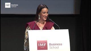 Graduación IMF – Discurso de Mercedes Montaño