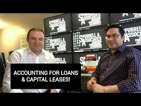 Accounting For Loans & Capital Leases