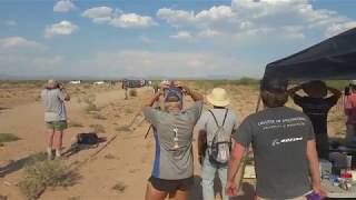College Students Launch Rockets in New Mexico Desert