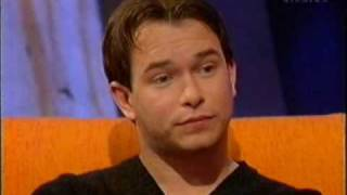 Boyzone - Stephen Gately, Ronan Keating and Geri Halliwell interview on Live and Kicking