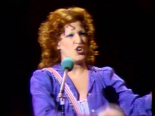 Bette Midler Show Live at Last (1976) Cleveland OH (full show)