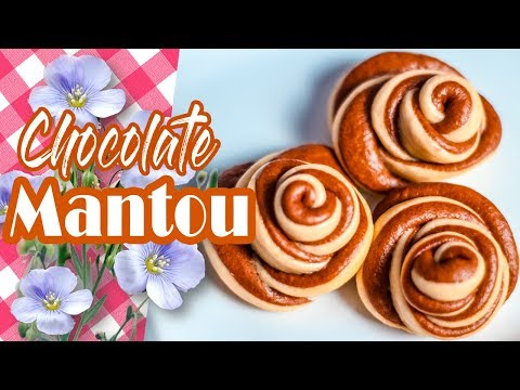 Cara Membuat Kue Bakpao Coklat | Chocolate Mantou Recipe
