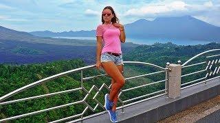 Бали за один день. Вулкан Агунг задымил. Вулкан Батур. Шоколадный водопад и Рисовые террасы в Убуде