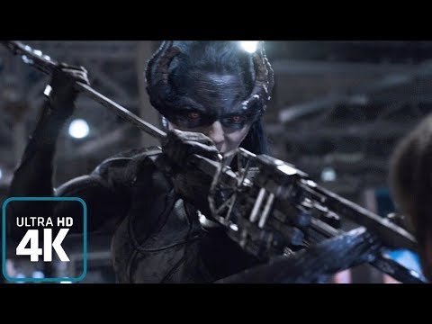 Proxima Midnight (Black Order): All powers from the Film