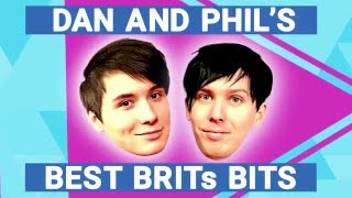 Dan and Phil's Best BRITs Bits | The BRIT Awards 2016