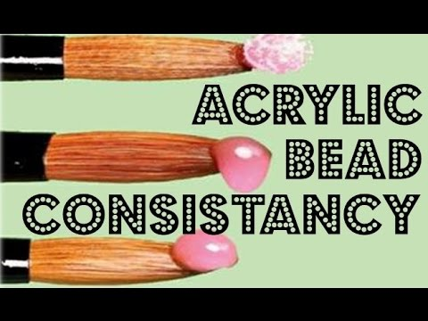 Acrylic Bead Consistancy Requested Video