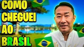 Minha chegada no Brasil.