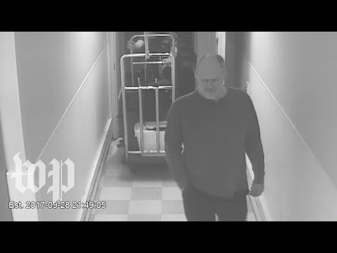 Watch surveillance video of the Las Vegas shooter