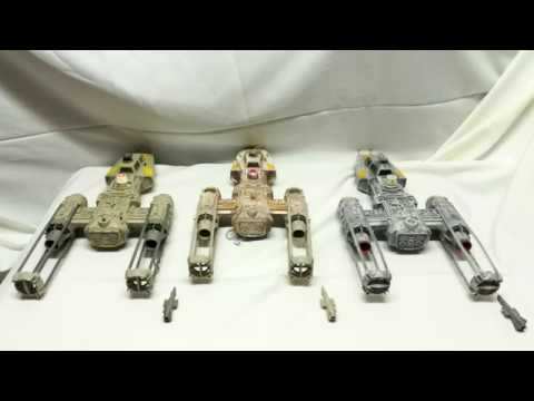 Star Wars - Y Wing Fighter aus der originalen Trilogy von Kenner/Hasbro