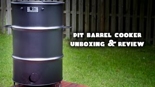Pit Barrel Cooker - Unboxing and Review