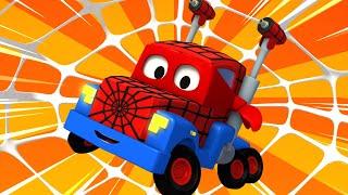 Xe tải nhện - Siêu xe tải Carl 🚚⍟ những bộ phim hoạt hình về xe tải l Vietnamese Cartoons for Kids