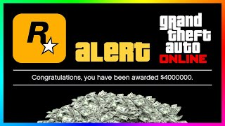 How To Get OVER $1,000,000 For FREE In GTA 5 Online & MORE! (April Fool's Day Update)