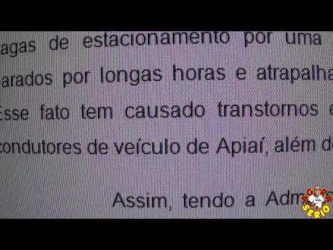 Zona Azul de São Lourenço da Serra tem o nome da Cidade de Apiaí no projeto do Executivo no Site da Câmara veja :