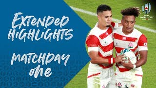 EXTENDED HIGHLIGHTS | Matchday One: Japan vs Russia #RWC2019