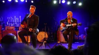 Joshua Homme & Matt Sweeney - Dark as a Dungeon (Johnny Cash) @ Teragram Ballroom, L.A. 13.12.2016