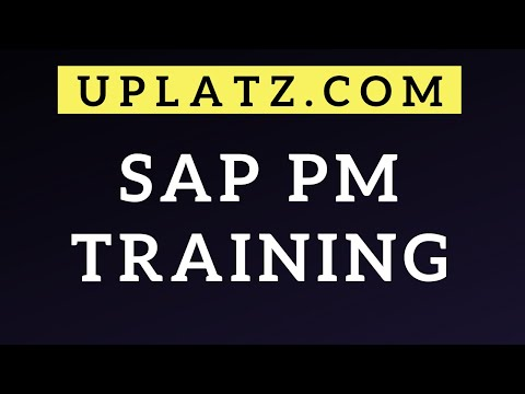 SAP PM Training & Certification | SAP Plant Maintenance | SAP PM ...