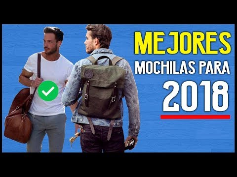 MOCHILAS con ESTILO para comprar en 2018 | JR Style For Men
