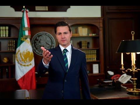 Mensaje del Presidente Enrique Peña Nieto