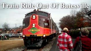 Train Ride Out Of Batesville, Mississippi